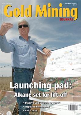 Gold Mining Journal (AU) magazine cover