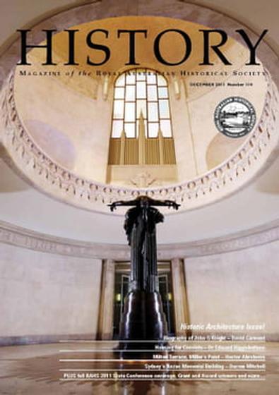 History Magazine (AU) cover