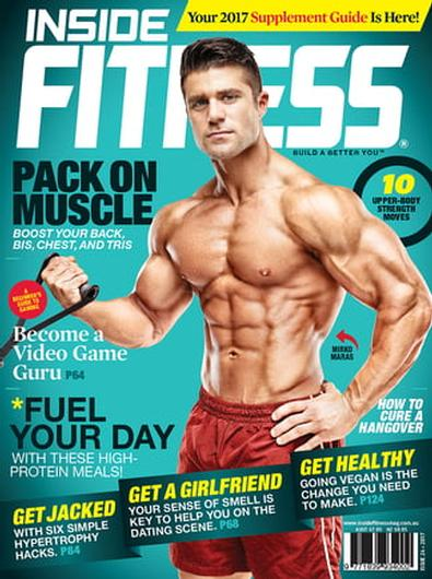 Inside Fitness (AU) magazine cover