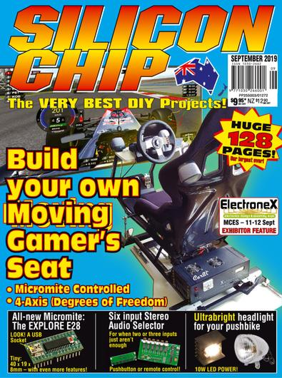 SILICON CHIP (AU) magazine cover