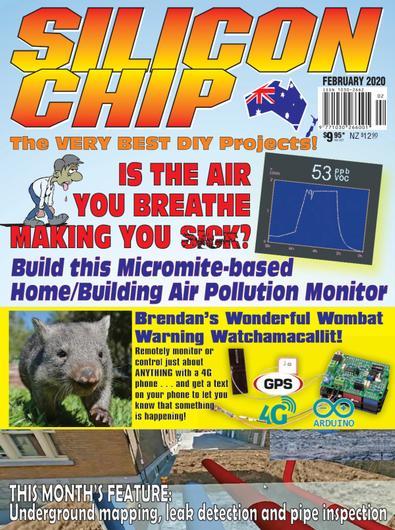 SILICON CHIP (AU) magazine cover