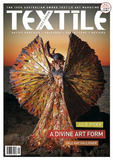 Textile Fibre Forum (AU) magazine cover