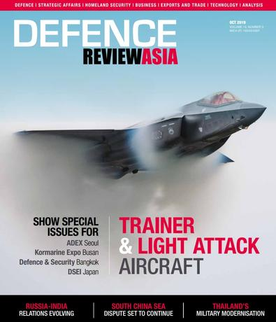 Defence Review Asia (AU) magazine cover