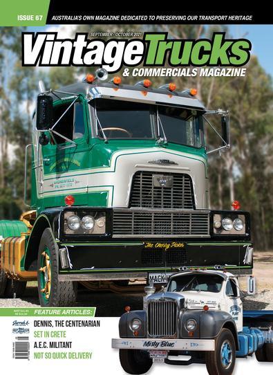 Vintage Trucks and Commercials Magazine (AU) cover