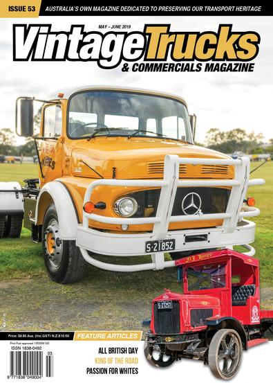 Vintage Trucks and Commercials Magazine (AU) cover