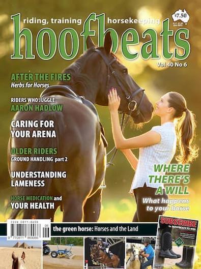 Hoofbeats Magazine (AU) cover