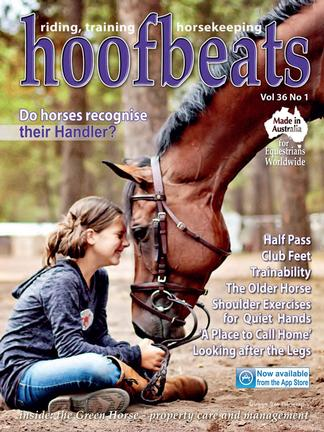 Hoofbeats Magazine (AU) cover