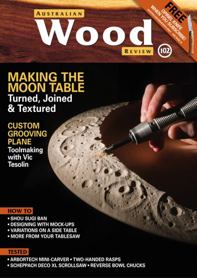 Australian Wood Review (AU) magazine cover