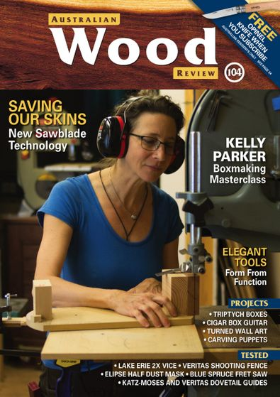 Australian Wood Review (AU) magazine cover
