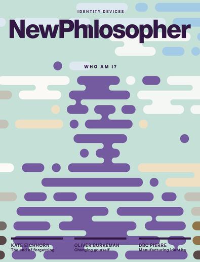 New Philosopher (AU) magazine cover