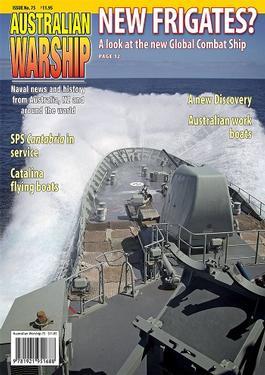 Australian Warship (AU) magazine cover
