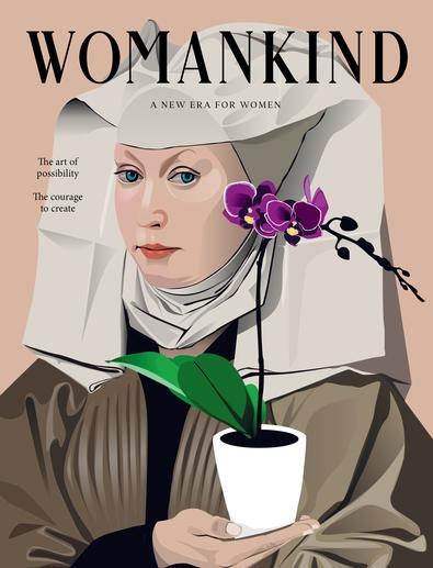 Womankind magazine (AU) cover