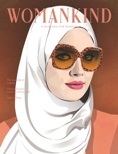 Womankind magazine (AU) cover
