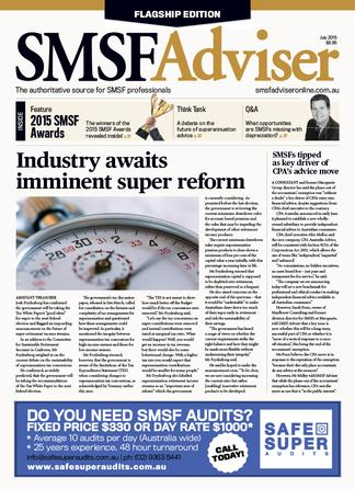 SMSF Adviser (AU) magazine cover