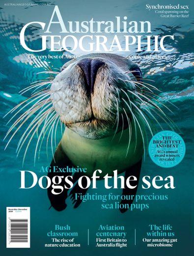 Australian Geographic (AU) magazine cover