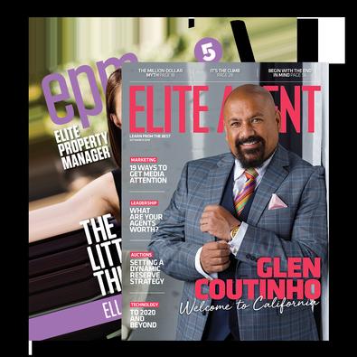 Elite Agent (AU) magazine cover