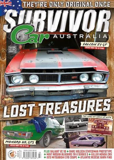 Survivor Car Australia (AU) magazine cover