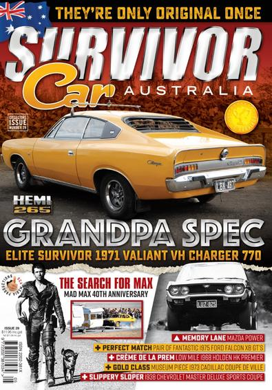 Survivor Car Australia (AU) magazine cover