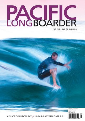 Pacific Longboarder Magazine (AU) cover