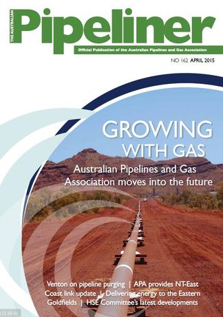 The Australian Pipeliner (AU) magazine cover