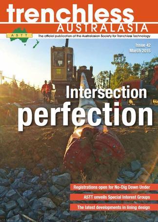Trenchless Australasia (AU) magazine cover
