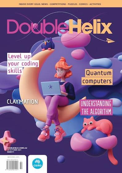 Double Helix (AU) magazine cover