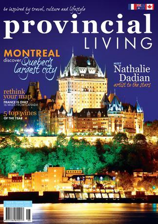 Provincial Living (AU) magazine cover