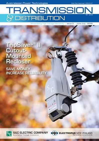 Transmission and Distribution (AU) magazine cover