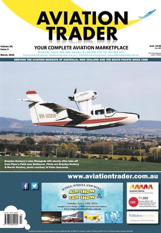 Aviation Trader (AU) magazine cover