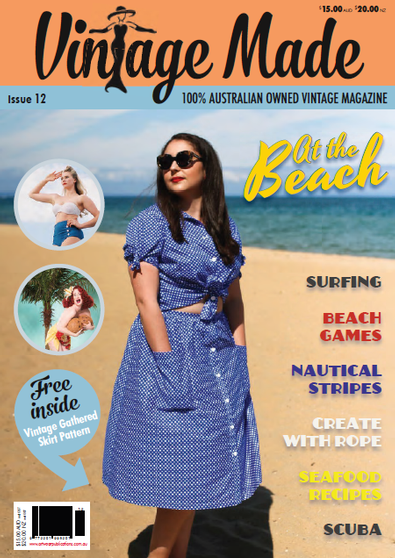 Vintage Made (AU) magazine cover