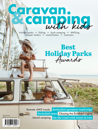 Caravan & Camping with Kids (AU) magazine cover