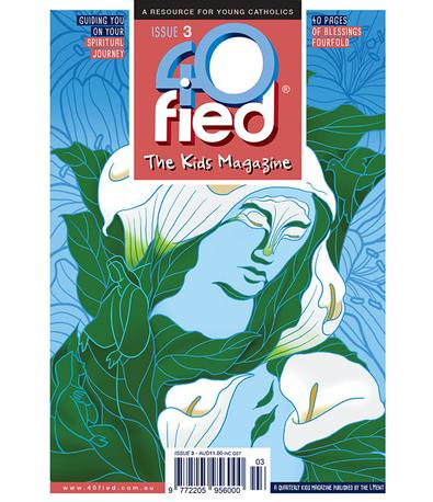 40fied - The Kids Magazine (AU) cover