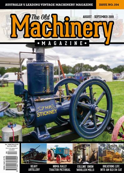The Old Machinery Magazine (AU) cover