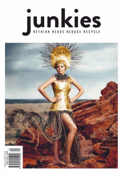 Junkies Magazine (AU) cover