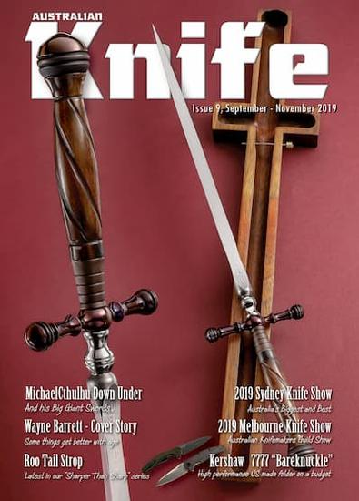 Australian Knife Magazine (AU) cover