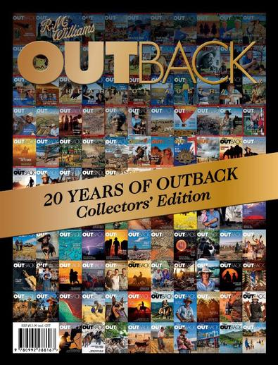 20 Years of OUTBACK: Collectors' edition (AU) magazine cover