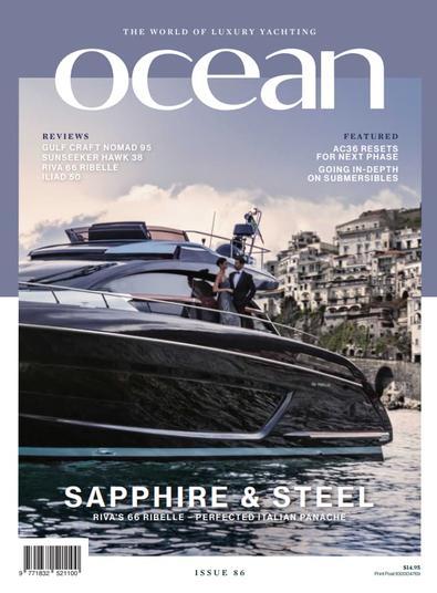 Ocean (AU) magazine cover