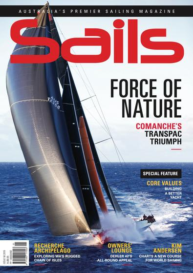Sails (AU) magazine cover