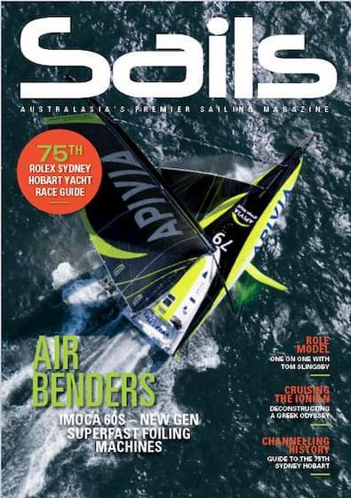 Sails (AU) magazine cover