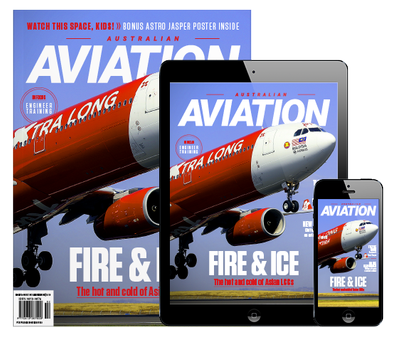 Australian Aviation (AU) magazine cover