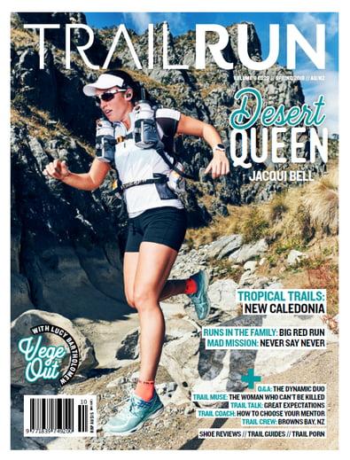 Trail Run Magazine (AU) cover