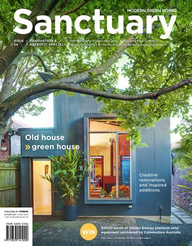 Sanctuary: modern green homes (AU) magazine cover