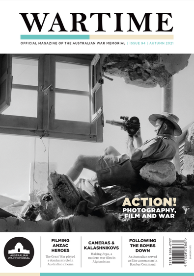 Wartime (AU) magazine cover