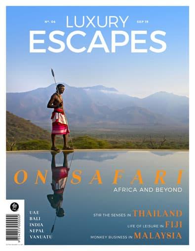 Luxury Escapes Magazine (AU) cover