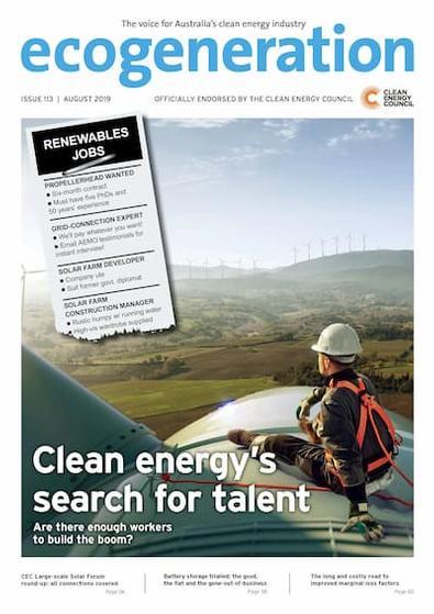 EcoGeneration (AU) magazine cover