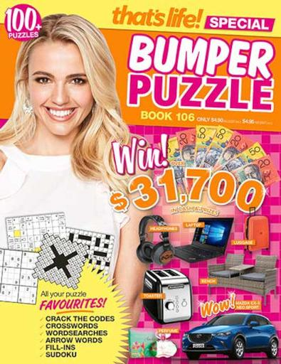 That's Life Bumper Puzzle (AU) magazine cover