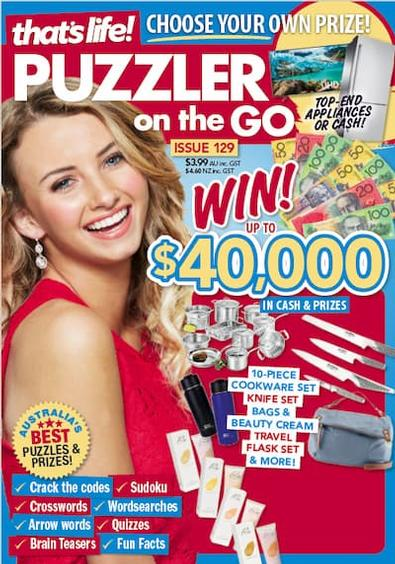 That's Life Puzzler On The Go (AU) magazine cover
