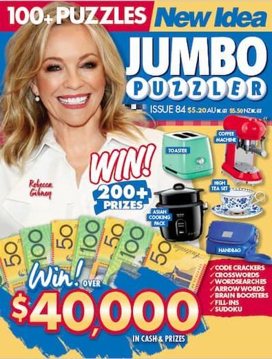 New Idea Jumbo Puzzler (AU) magazine cover