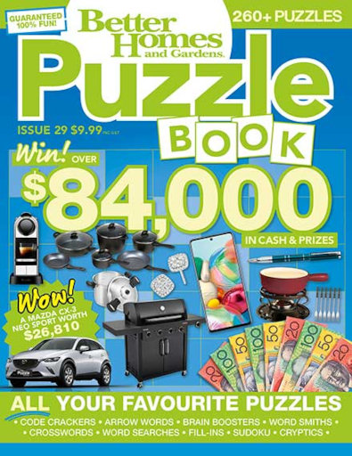 Better Homes and Gardens Puzzle Book (AU) magazine cover