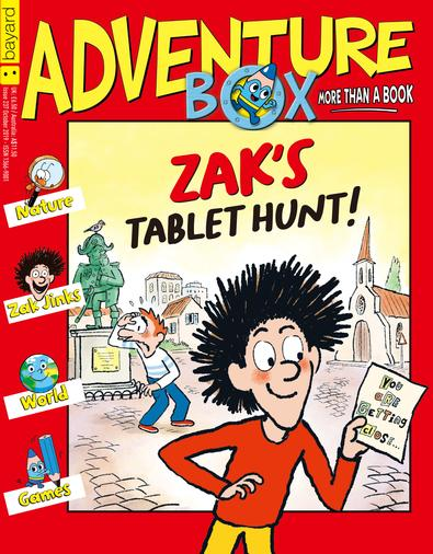 AdventureBox (AU) magazine cover